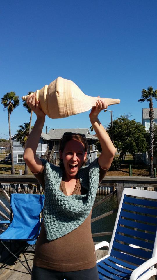 large trumpet shells