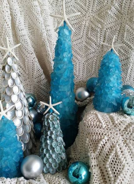 Coastal Christmas in Nautical Tones