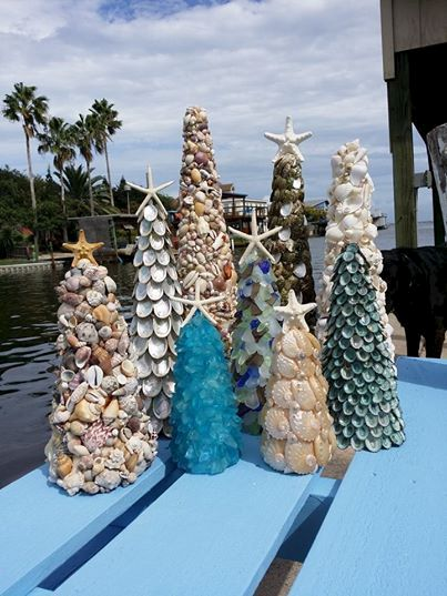 seashell trees